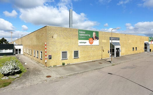 Højloftet depot - Køge - Nettolager