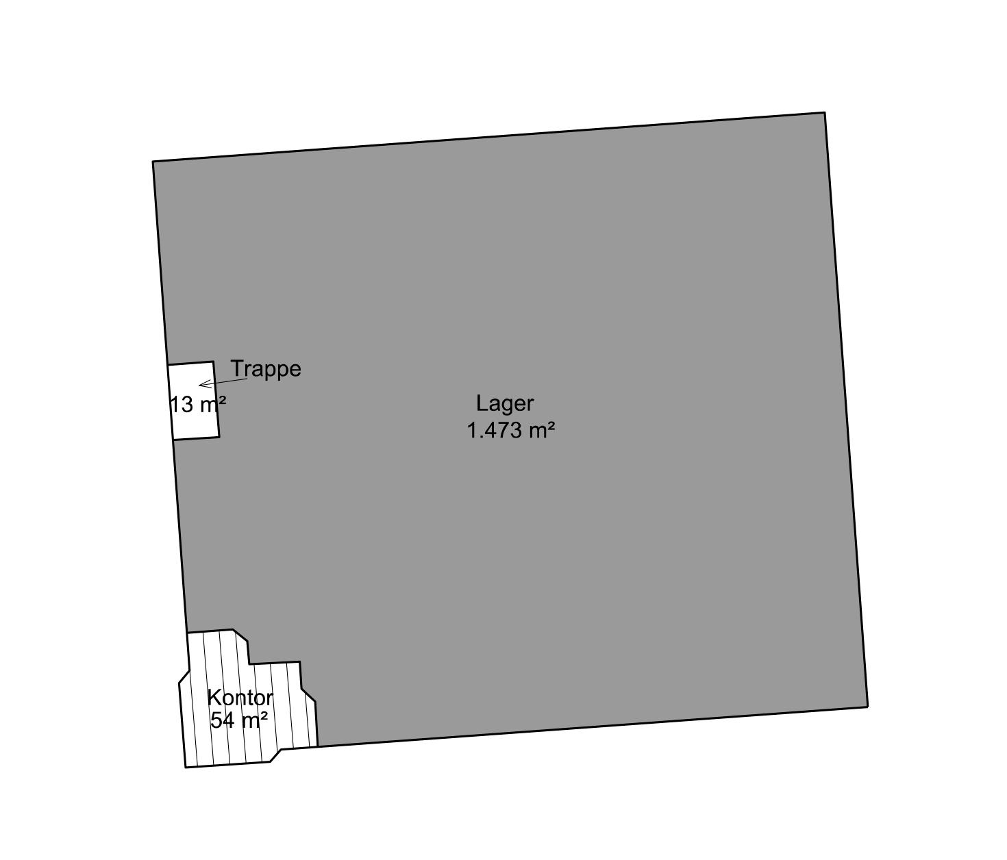 Plantegning - Stueplan - Bygning 2 - Brandstrupvej 4