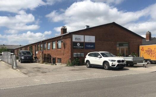Nyholms Alle - Rødovre - Investering - Bruger - Værksted - Kontor - Lager