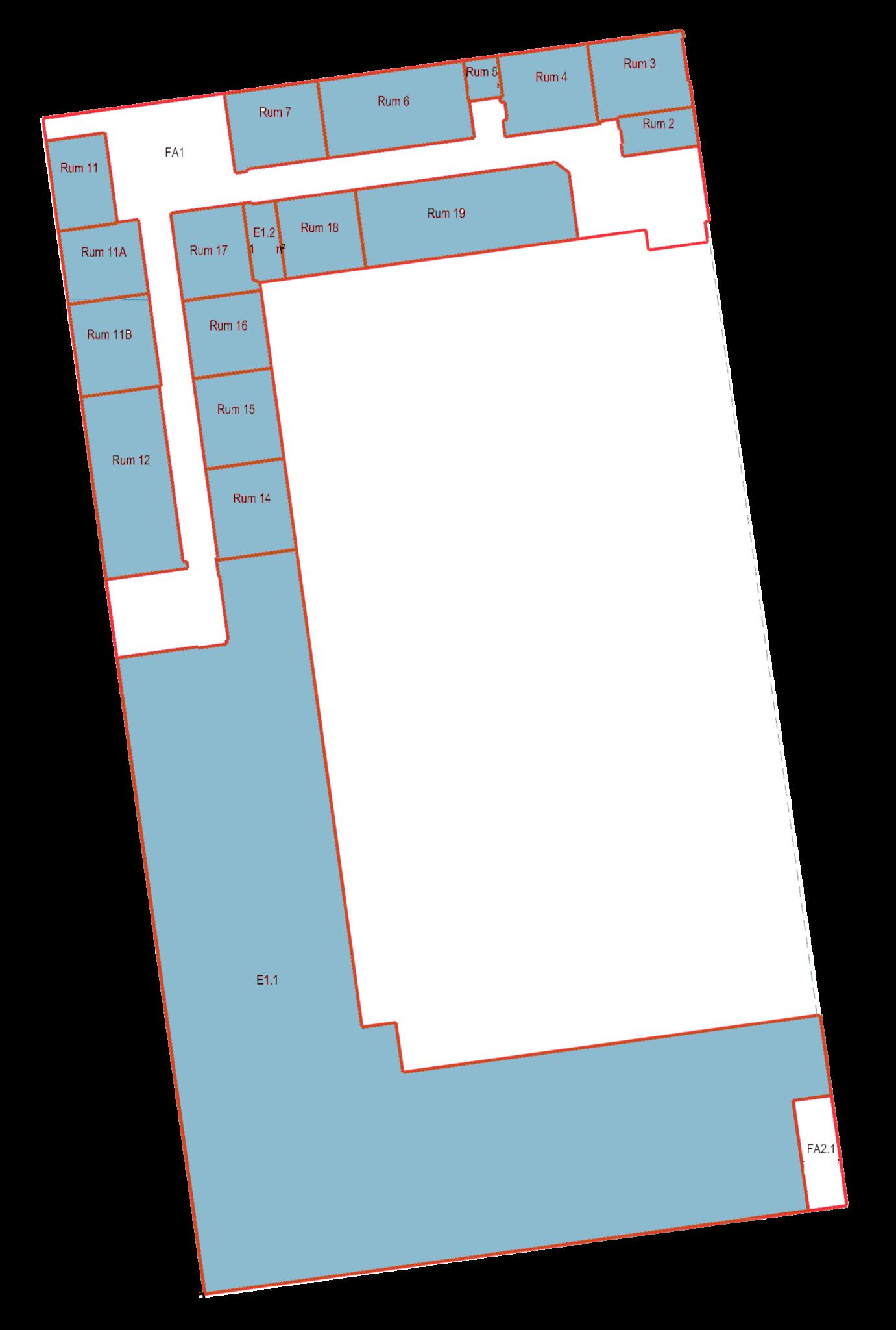 Plantegning - Dynamovej 11, kælder - Lager/Depot